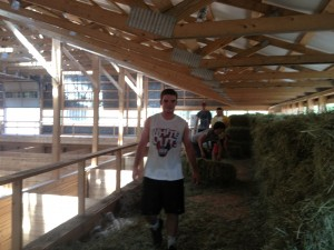 Bringing in the hay 074