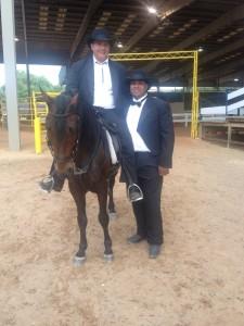 Javier and Juan Cardon with Beliago